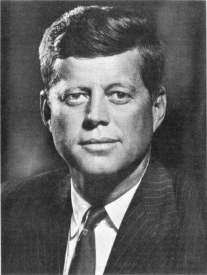 John F. Kennedy had similarities with Abraham Lincoln